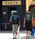 Backpacking Urlauber