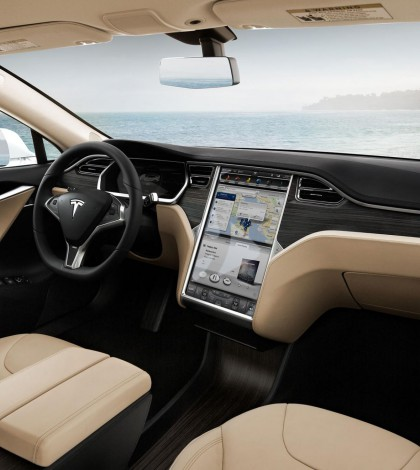 Tesla S Touchscreen