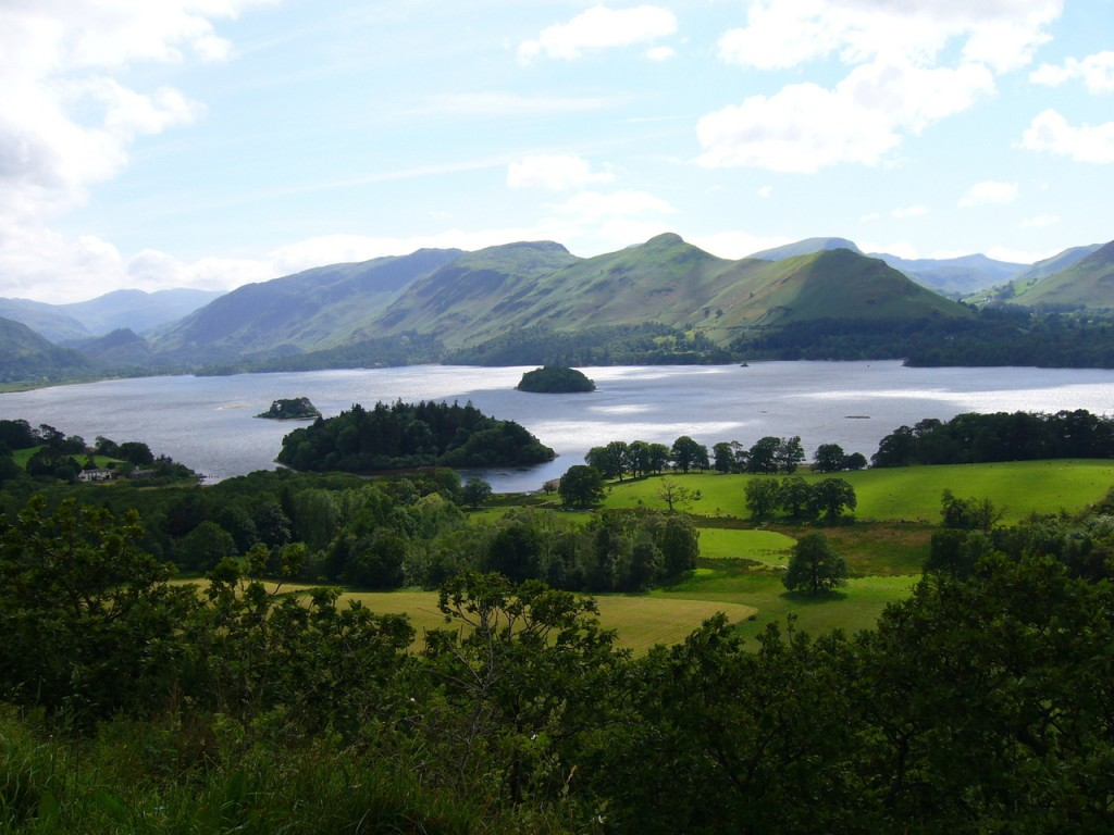 Derwentwater-Lake District in Großbritannien -©-Graham Soult_FreeImages