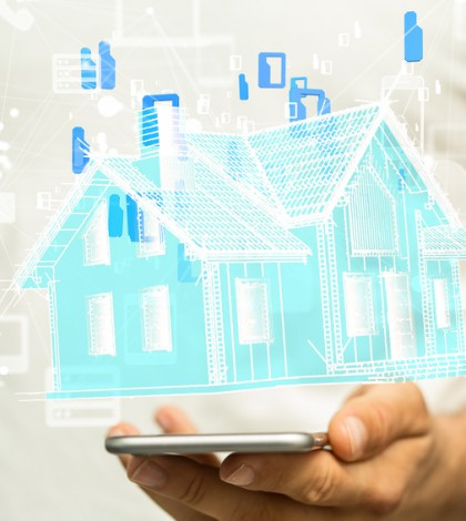 Das Smart Home in Männerhand © vege / Fotolia.com